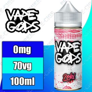 Vape Gods Slush Range 100ml