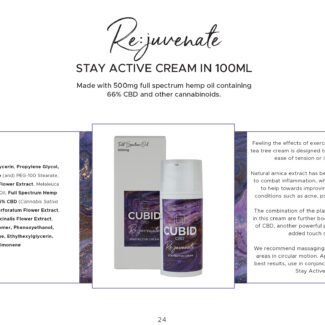 Cubid Rejuvenate – Muscle Cream 500mg