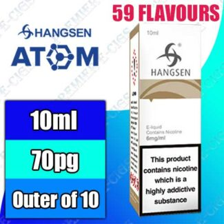 Hangsen   Atom   Wholesale   (10 X 10ml Pack)